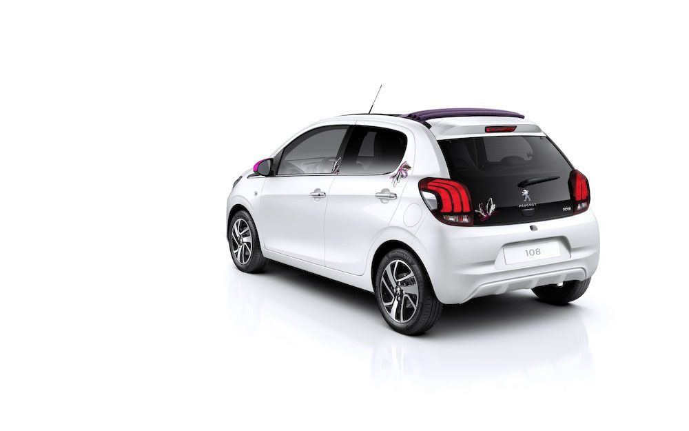 New Review Peugeot 108 Release Rear Side View Model Peugeot Car