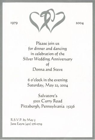Personal Wedding Invitation Matter For Friends