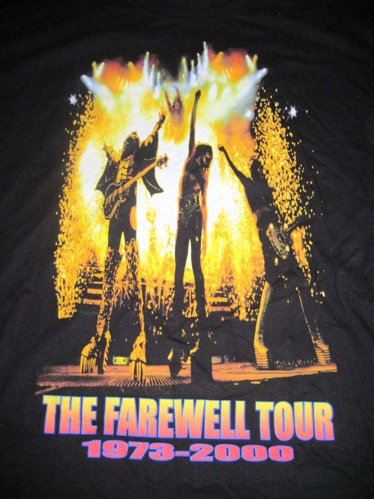 Lyric new disease spineshank lyrics : Original Kiss The Farewell Tour 1973-2000 T-Shirt XXL | Concert ...