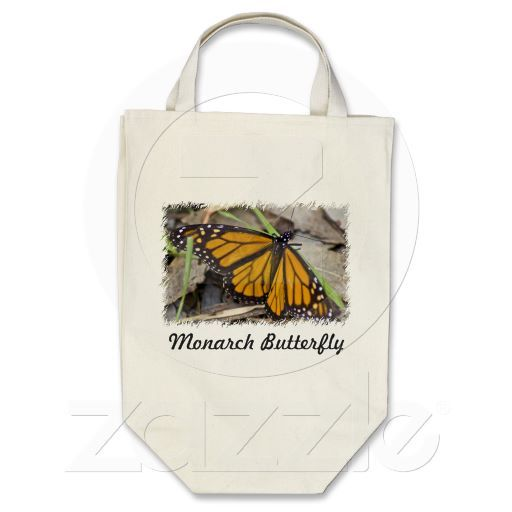 Monarch Butterfly Bag by Florals by Fred #zazzle #gift #photogift
