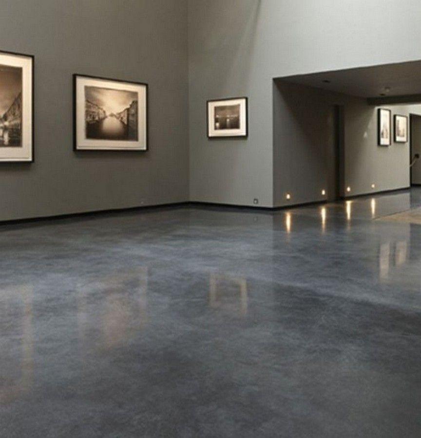 Top 60 Best Concrete Floor Ideas Smooth Flooring Interior Designs Page 46 In 2020 Betonmuren Betonvloeren Gepolijst Beton