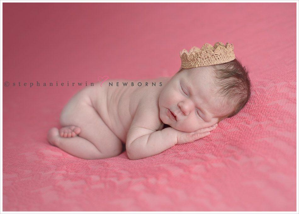 Torontobabyphotography newborn photography newborn girl crown photo prop baby girl