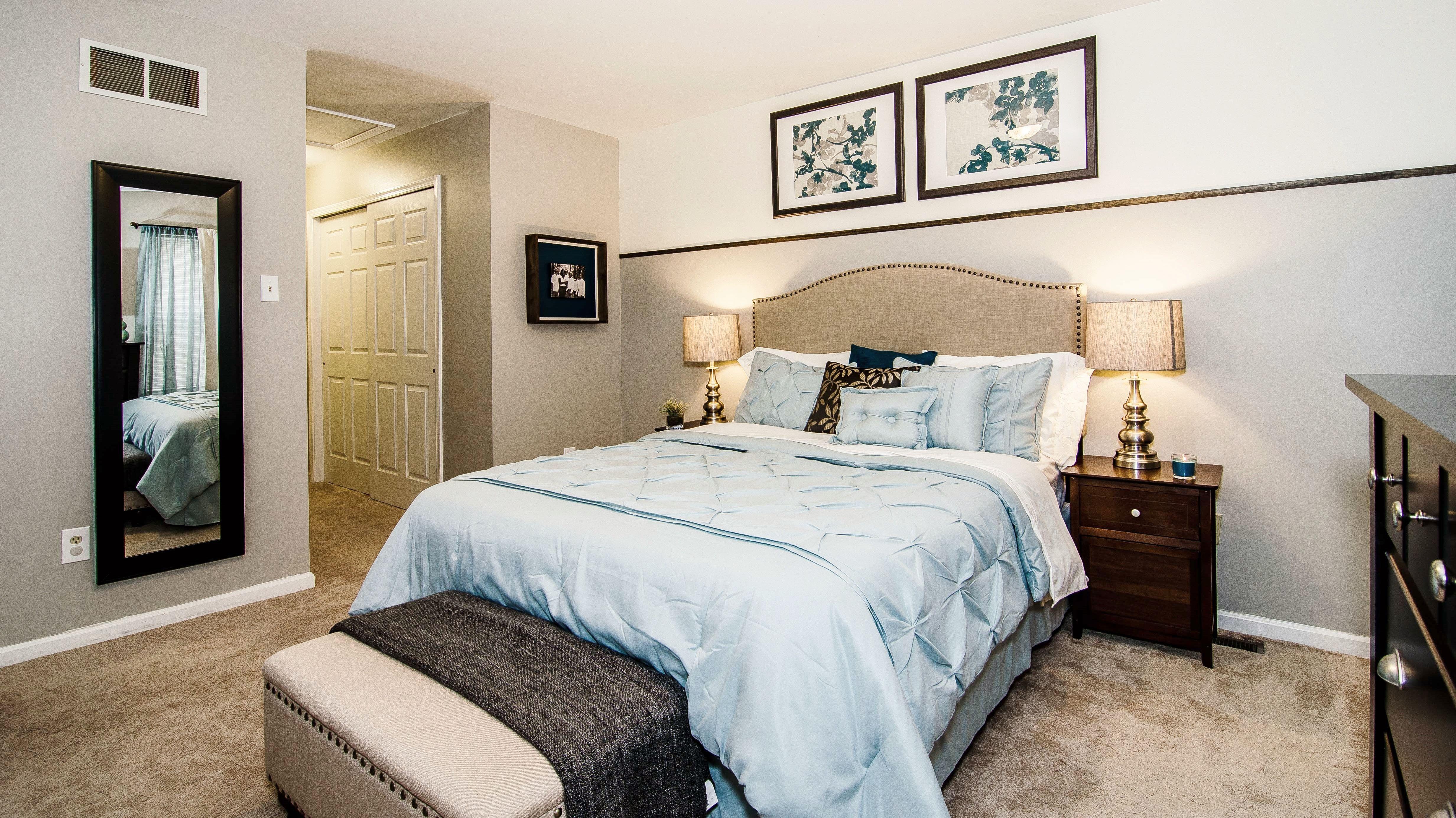 Master bedroom decor  relaxing soft color palette in master bedroom makeover  Decor for