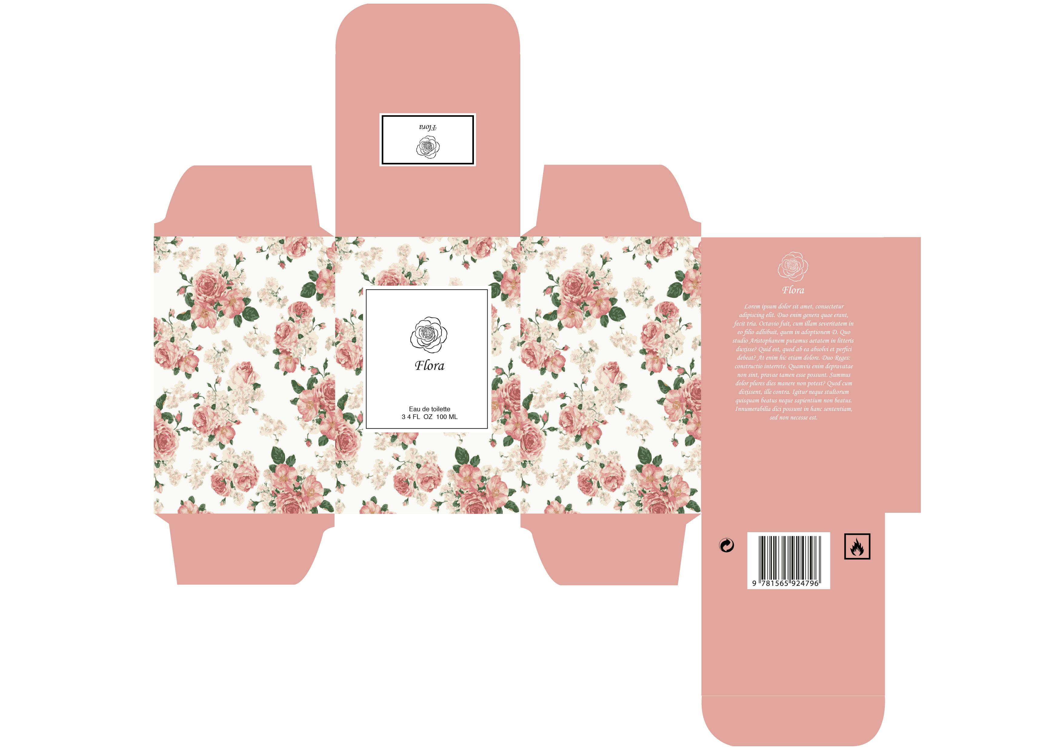 cologne box template - girly packaging mini doosjes pinterest girly
