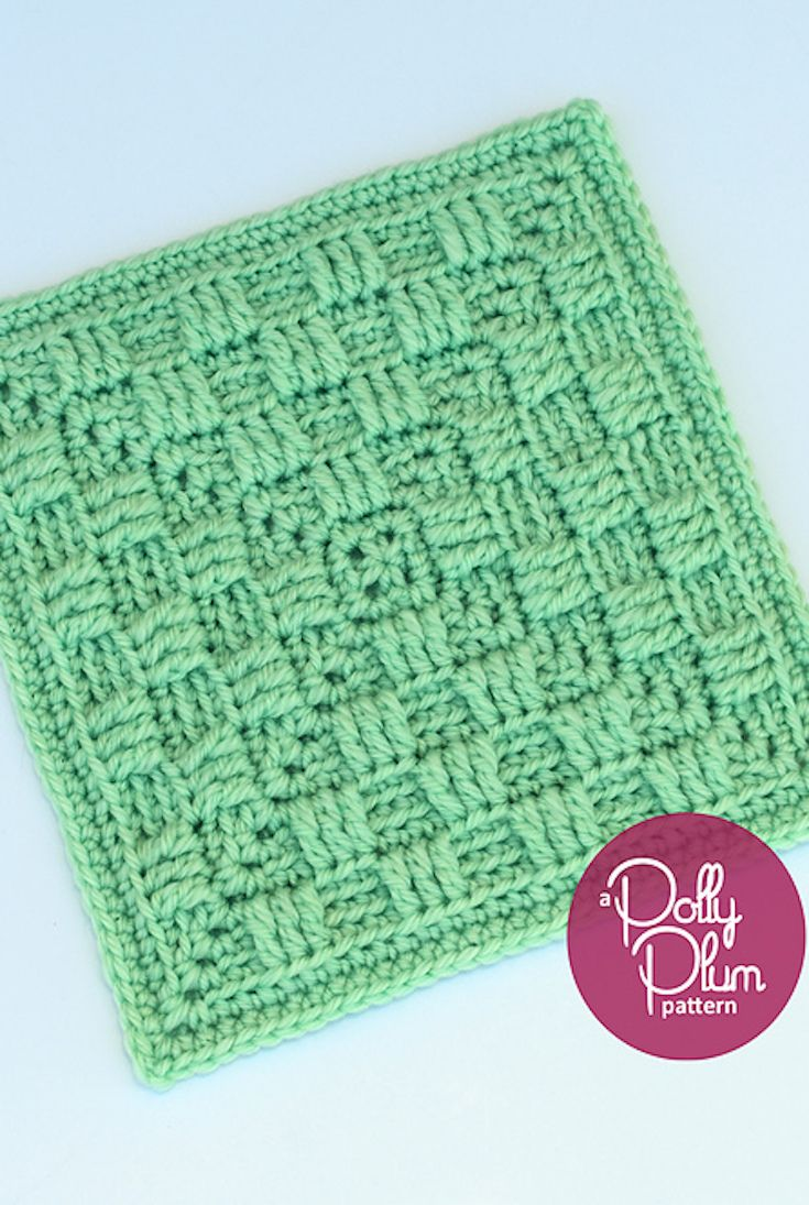 Free Pattern] Stunning Texture-Rich Afghan Square With Checkerboard ...