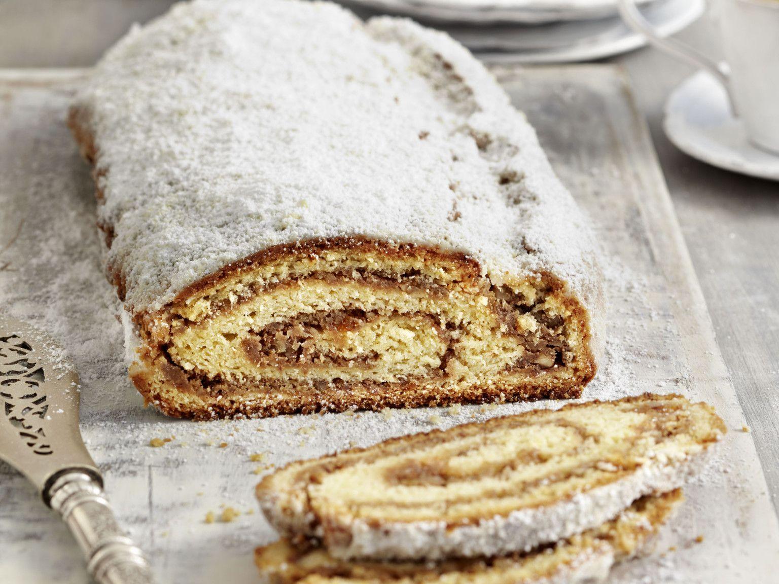Nuss-Stollen - saftig & lecker | Die besten Backrezepte mit Gelinggarantie #cinnamonsugarcookies