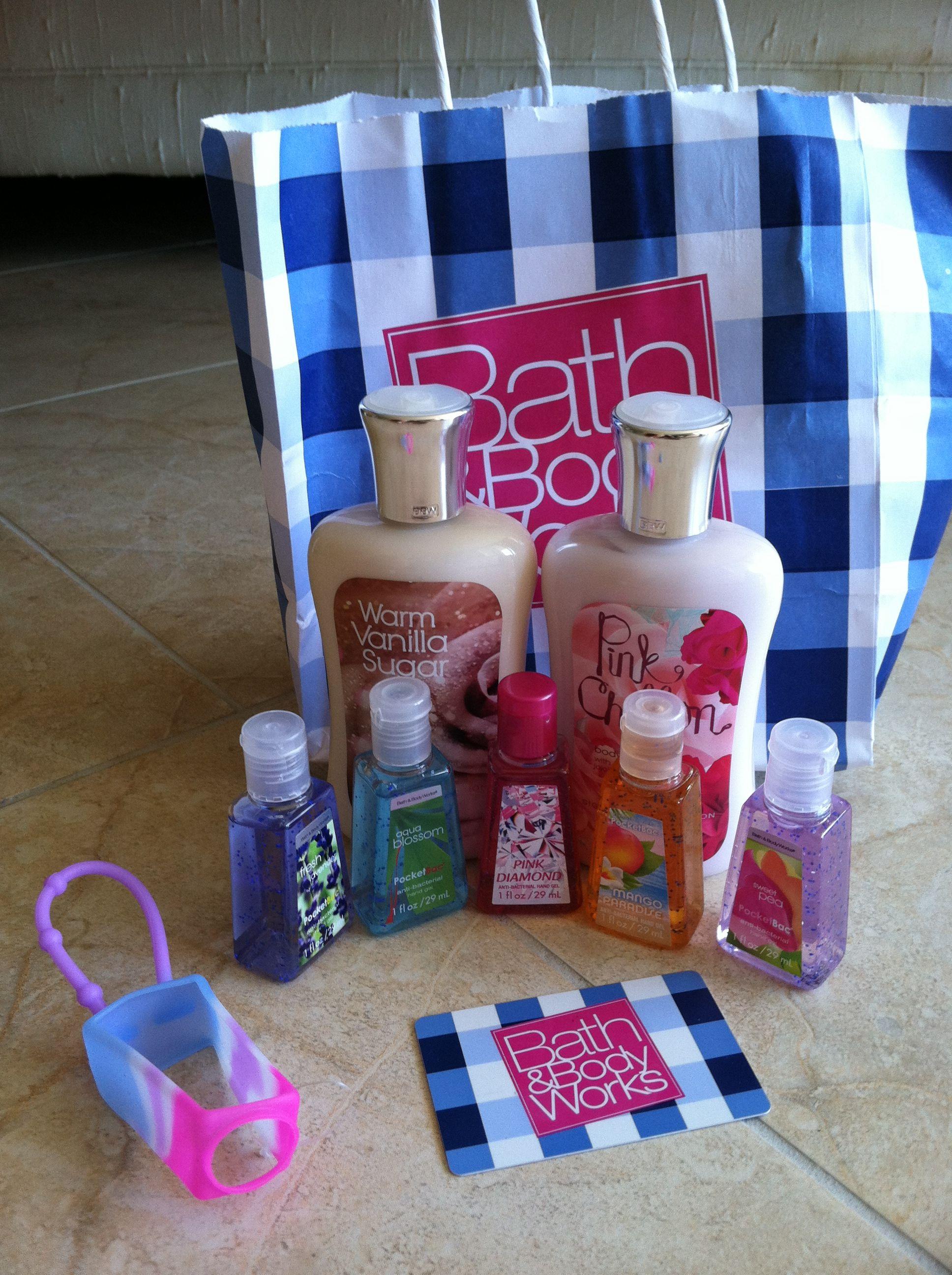 Bath Body Works Warm Vanilla Sugar Pocketbac Sanitizing Hand Gel