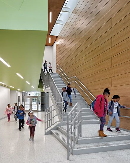 Charter Oak International Academy By Perkins Eastman