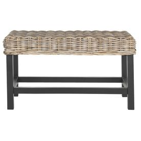 Safavieh Southeast Asia Grey Indoor Accent Bench Sea7014a