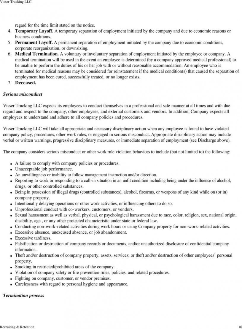 Browse Our Image Of Trucking Company Safety Policy Template Policy Template Safety Policy Policies