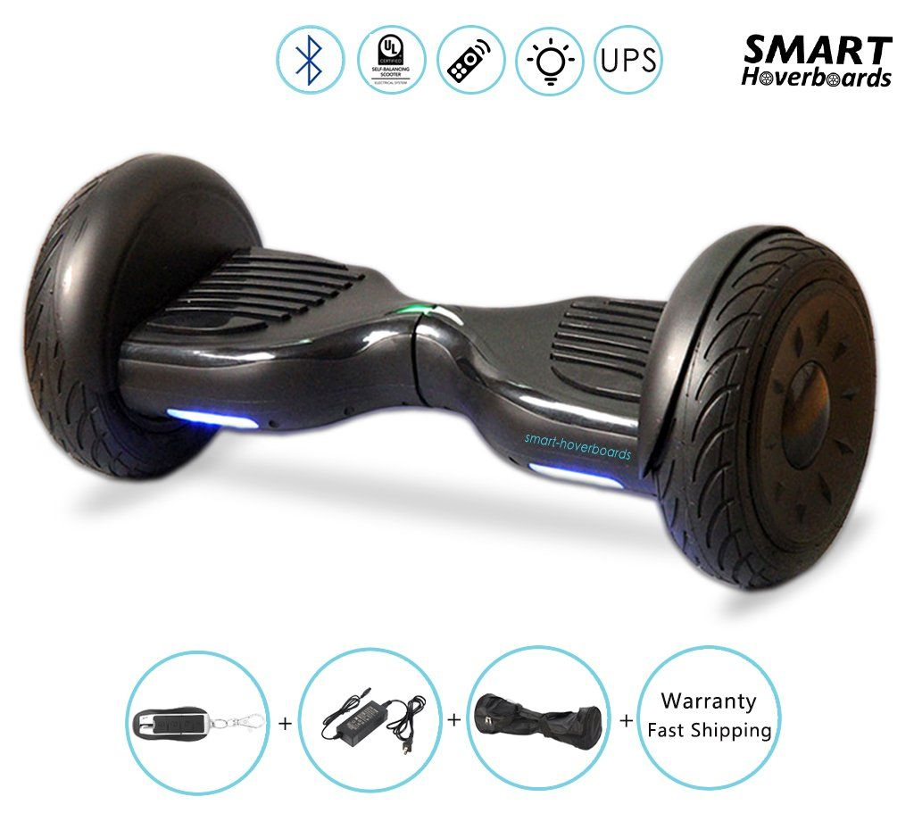 Improv New 6.5 Classic Hoverboard Swegway Board Self Balancing Scooter with Built-in Bluetooth Speakers and Carry Bag
