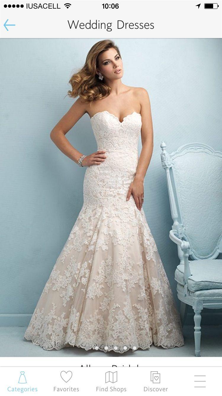 Nuevo vestido publicado! Allure Bridals – T4-6 enc ¡por sólo $16000 ...