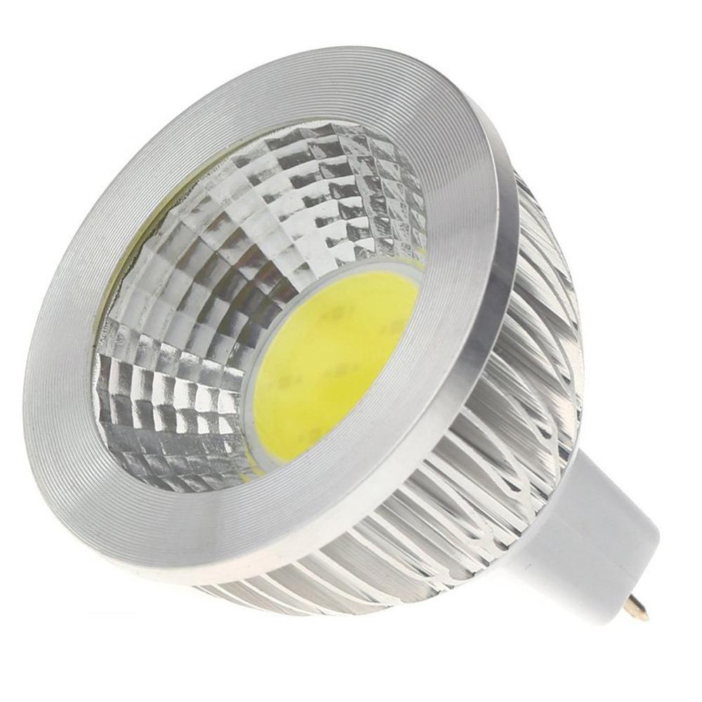 Mr16 5w Cob Led Spotlight Energy Saving High Power Lamp Bulb 12v Us 1 73 Led Spotlight Lamp Bulb Save Energy