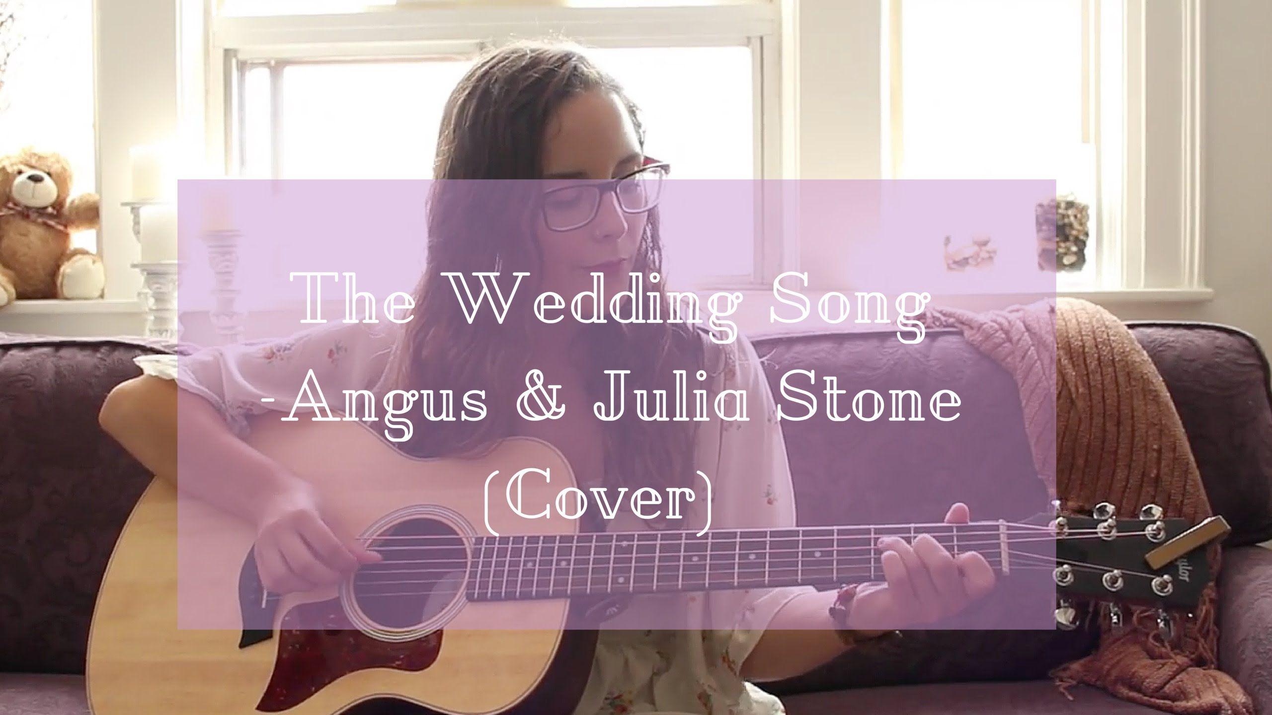 The Wedding Song Angus Julia Stone Cover Brooklyn Doran
