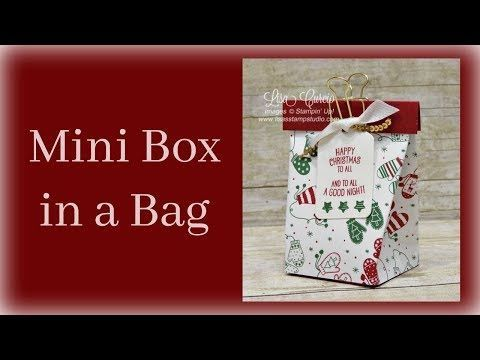 Mini Box In A Bag  Perfect With Any Theme LisaS Stamp Studio
