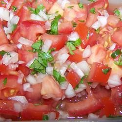 I just tried this salsa recipe for the first time. It was great!