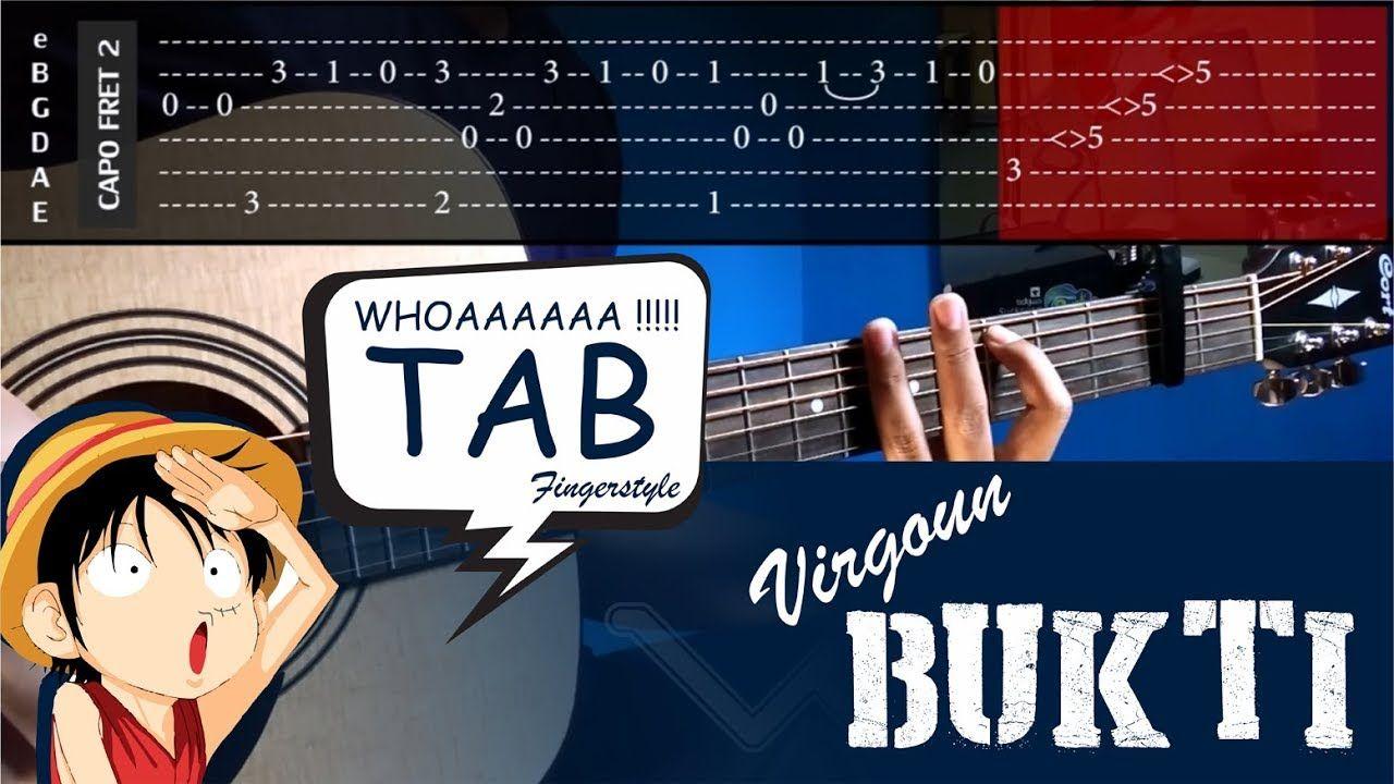 Virgoun Bukti Cover Fingerstyle Cover Tabs Tutorial Tab