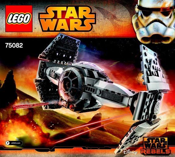 Star Wars Rebels - TIE Advanced Prototype [Lego 75082]   Lego Sets ...