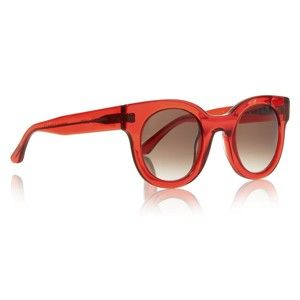 thierry lasry red sunglasses