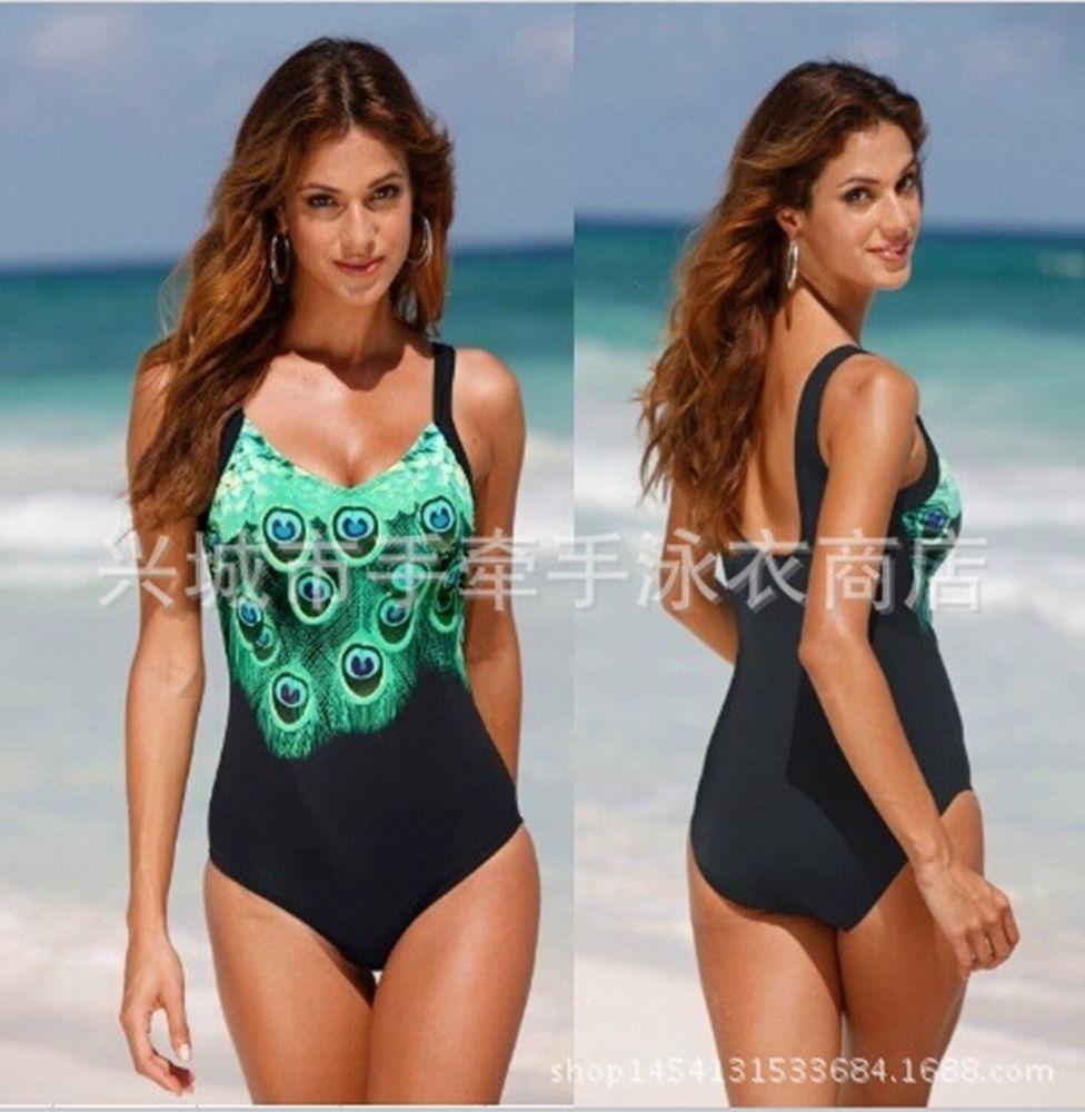 c177249005 Women's Swimming Costume One Piece Swimsuit Beach Swimwear Swimsuit Size Uk  ...