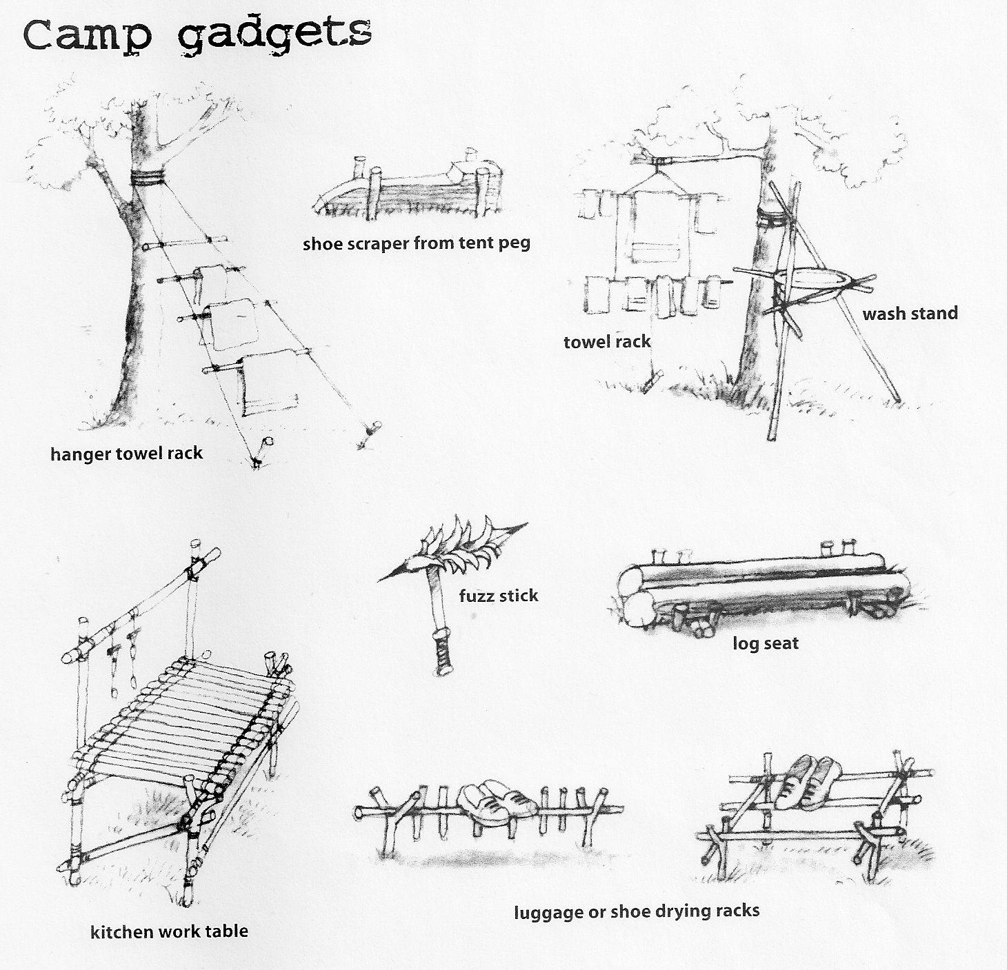 Bushcraft From My Old Girl Guide Handbook