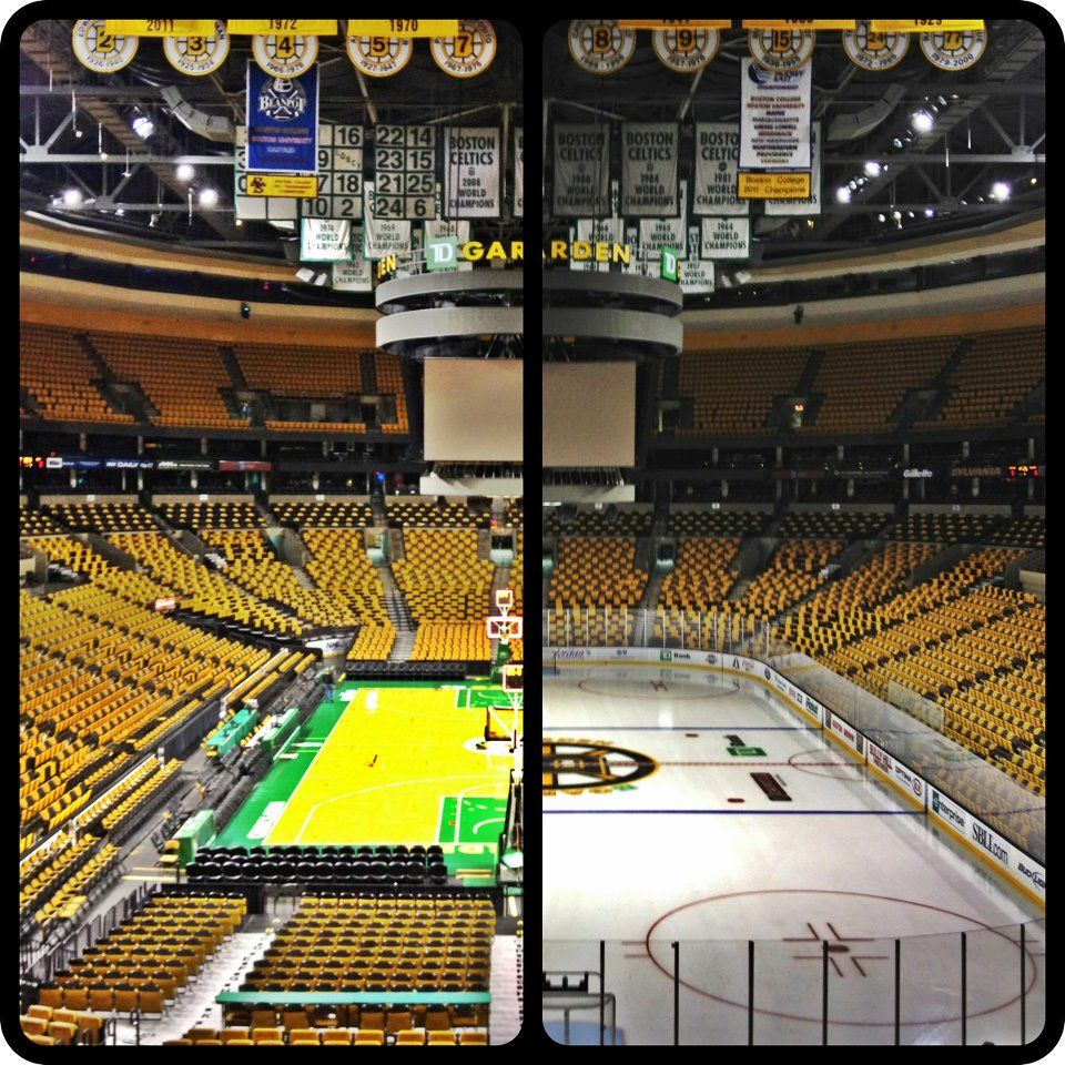 The Garden Where All My Favorite Men Call Home Boston Bruins Boston Celtics England Sports