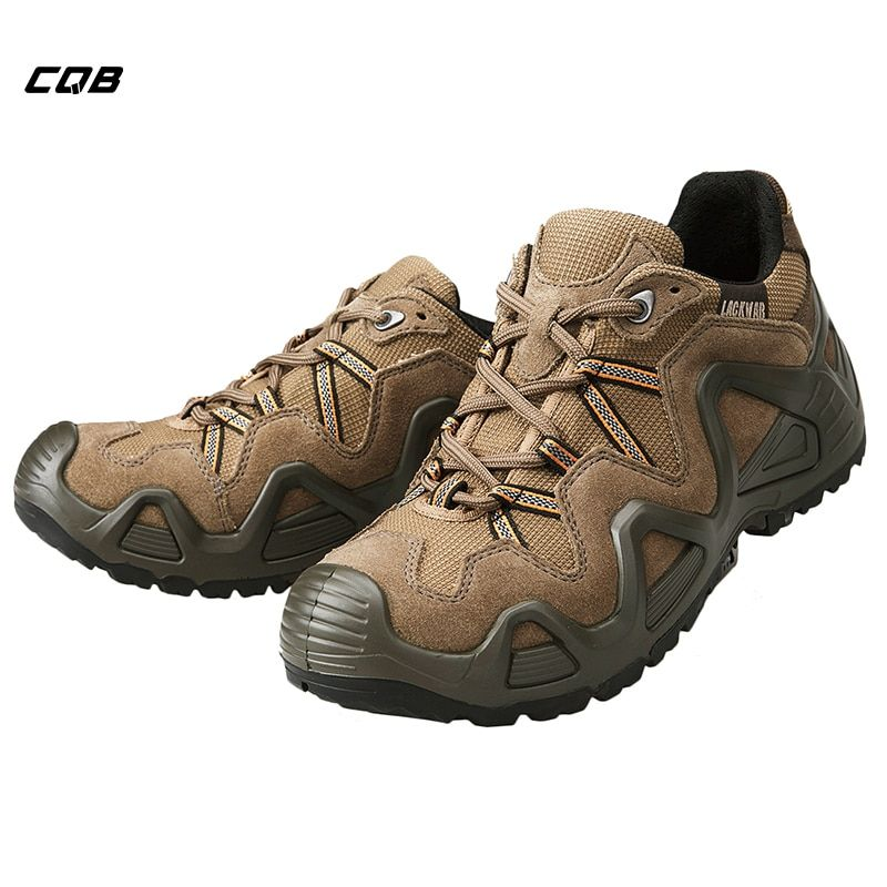 c5643564455 CQB Outdoor Sports Hiking Tactical Military Shoes Men Mountain Low ...