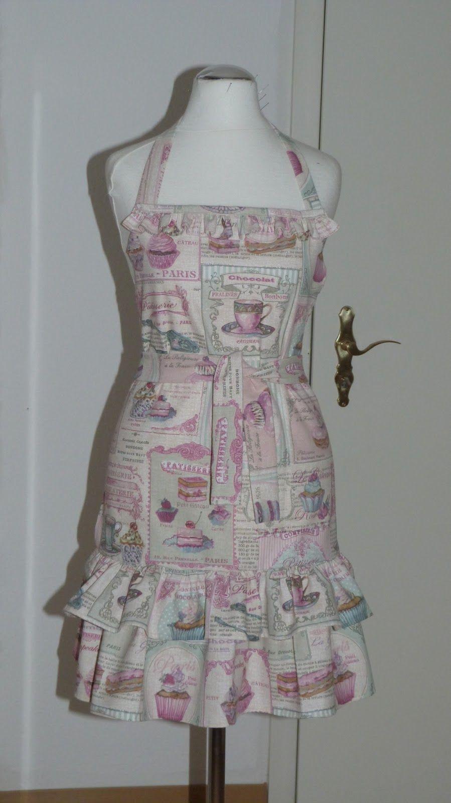 Yulivee-Fashion: süße Schürze | Schürze | Pinterest | Schürze, Süß ...