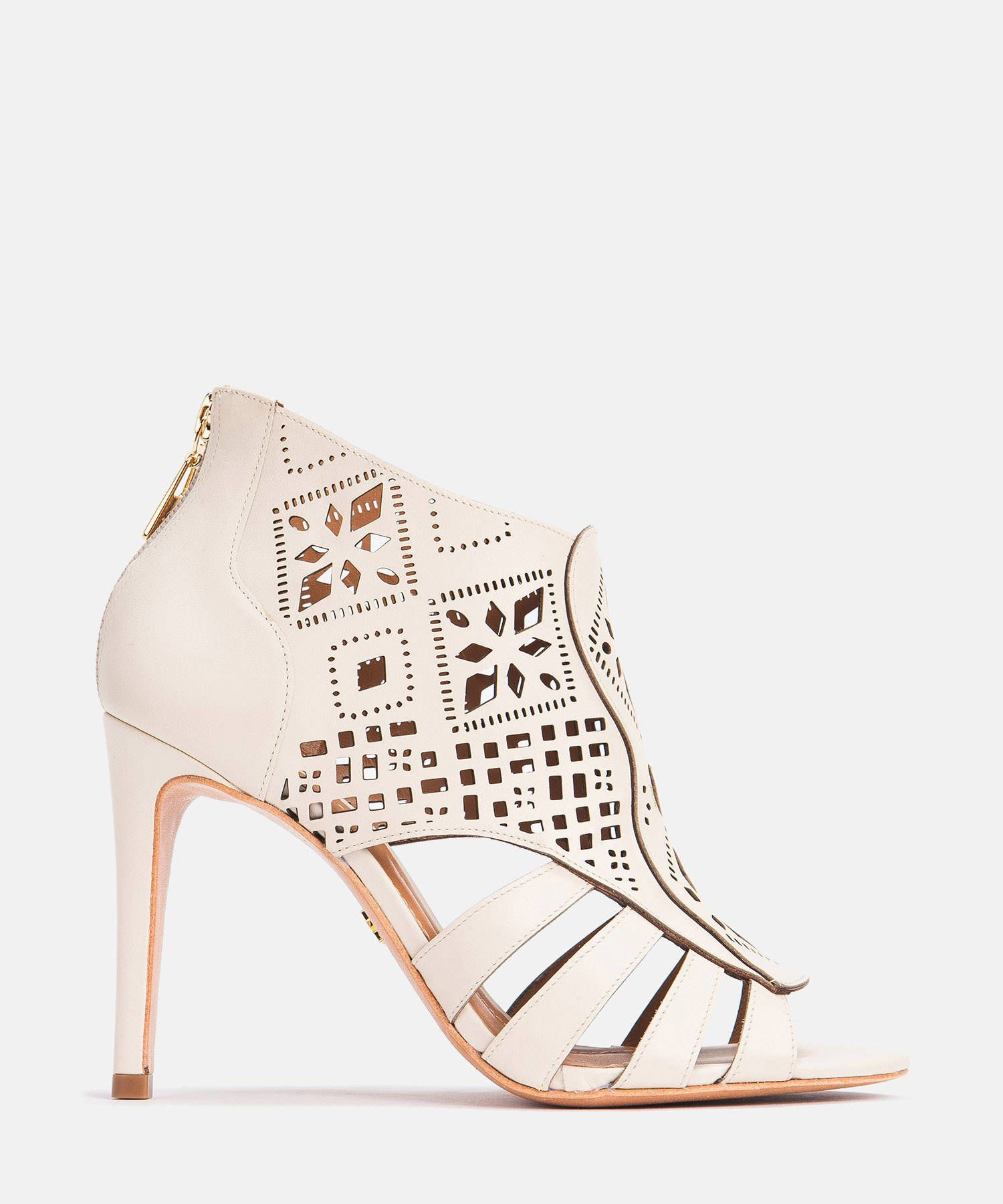 Botki Peep Toe Damskie Kremowe 32210 01 29 Z Kolekcji 2018 Serdecznie Zapraszamy Do Zapoznania Sie Z Aktualna Oferta Sklepu Int Shoes Shoe Boots Wedding Shoe