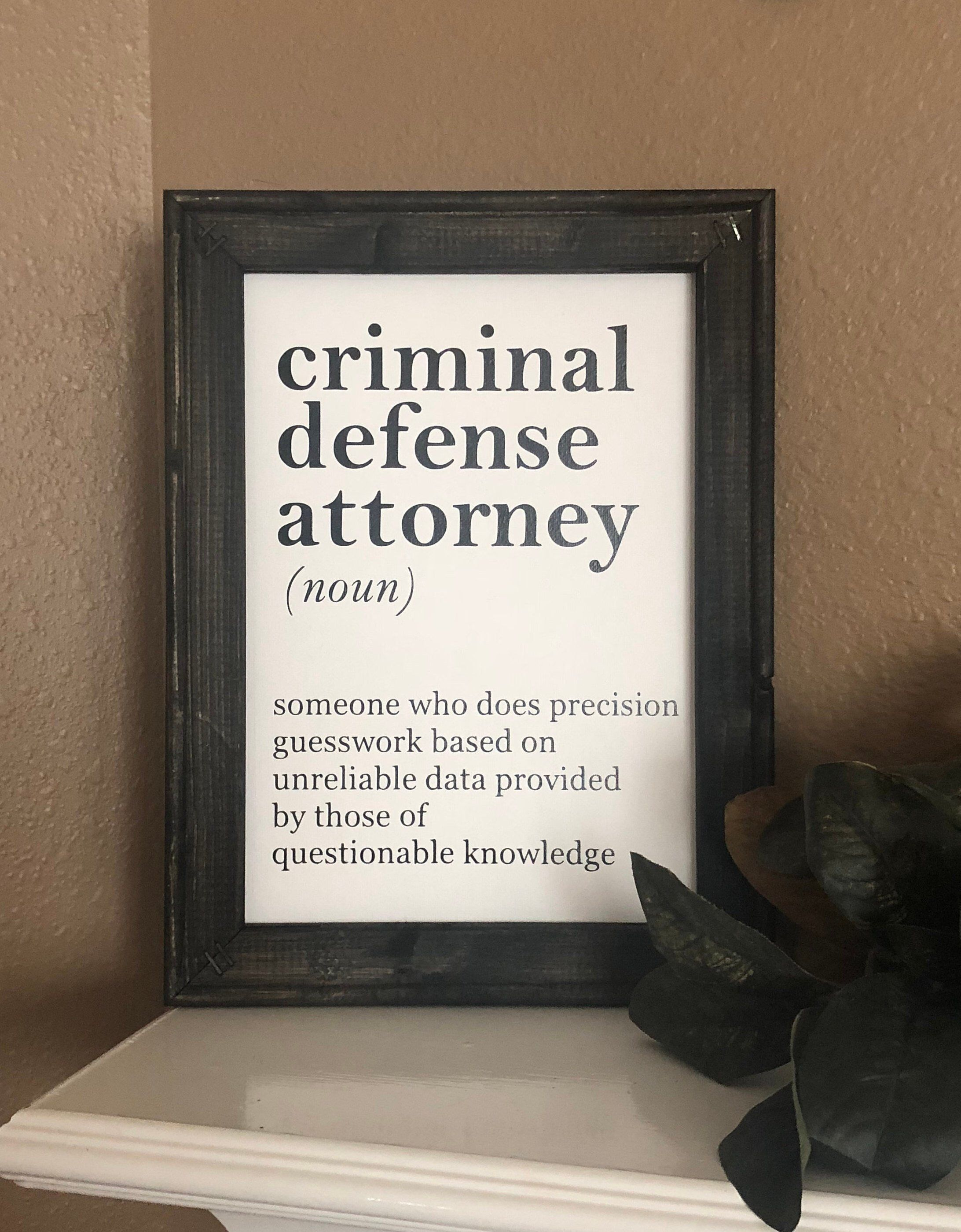 Lawyer Gift Lawyer Definition Lawyer Gift Funny Sign