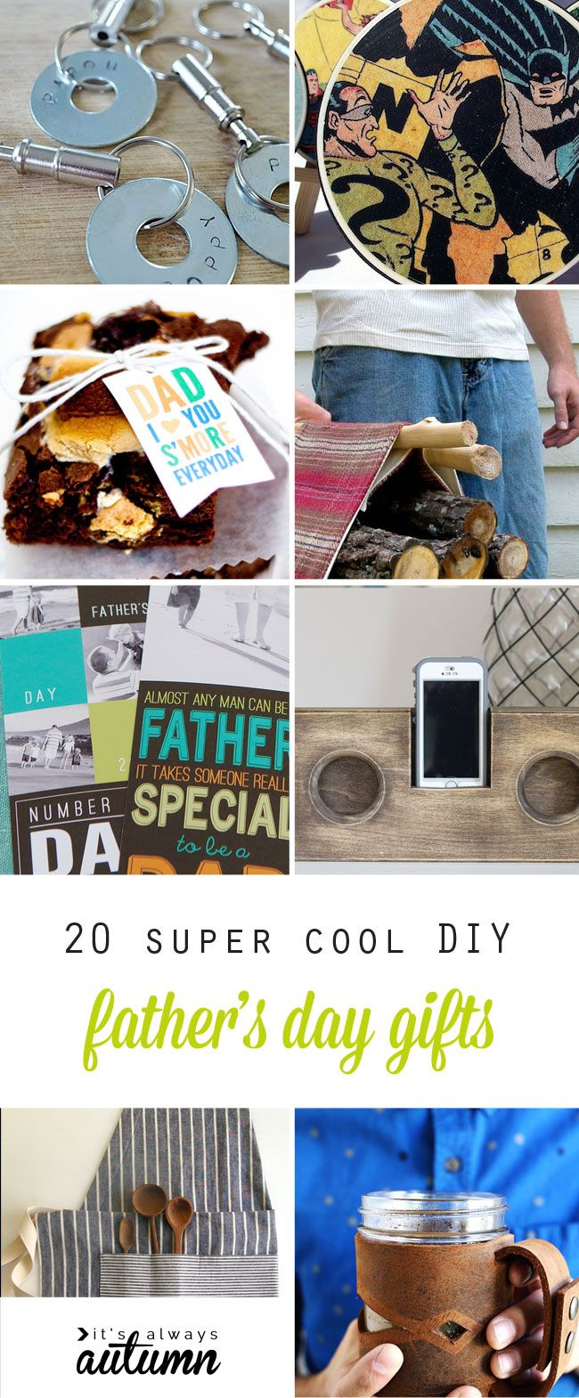 20 Super Cool Handmade Father S Day Gifts Diy For Dad Ogt