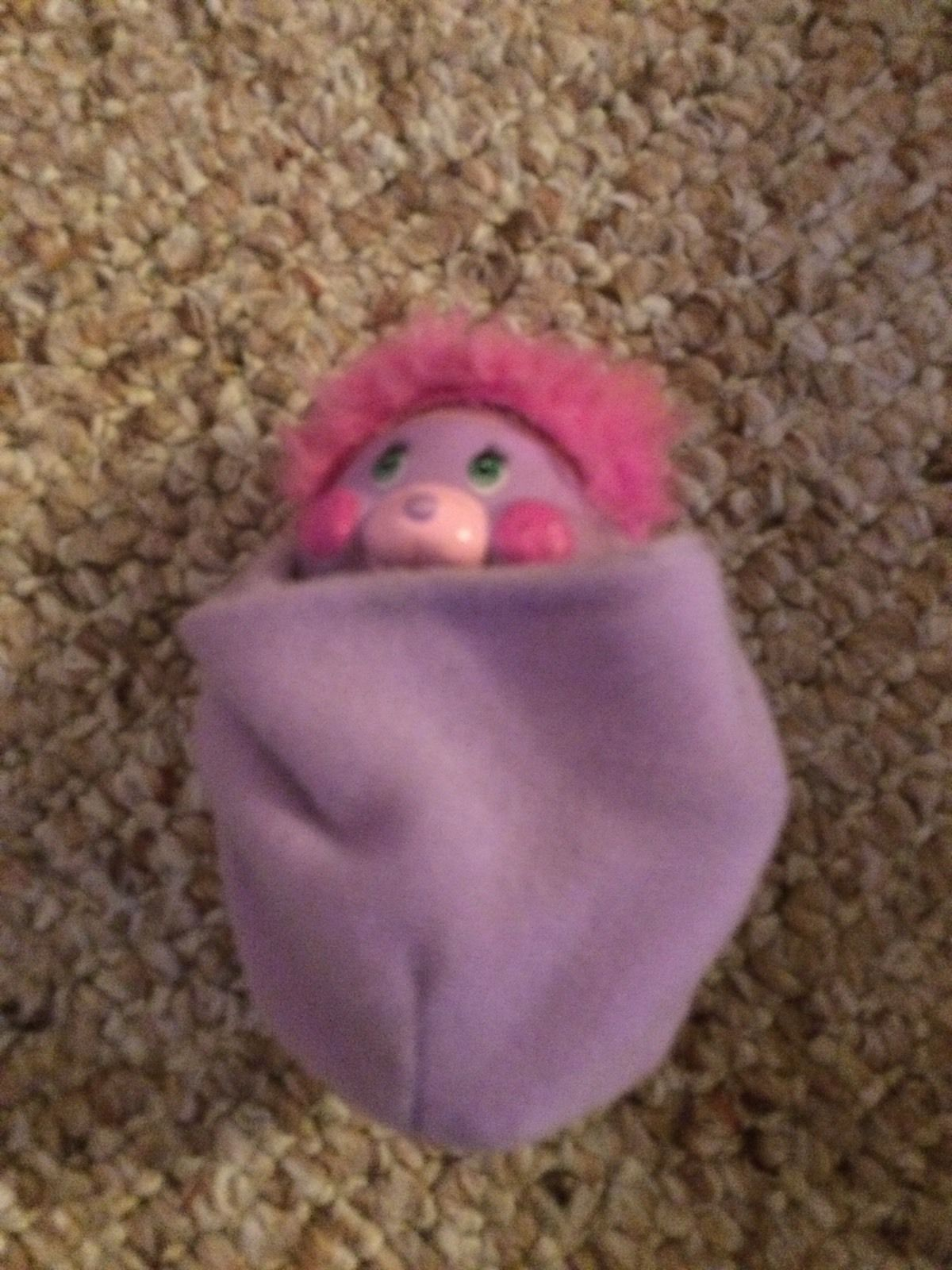 "VNTG 1985 Mattel Mini Pocket PAL Purple 3"" Popple Plush Doll | eBay"