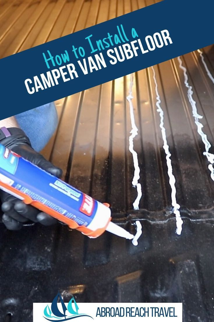 Photo of How to Install a Van Subfloor – Abroad Reach Travel