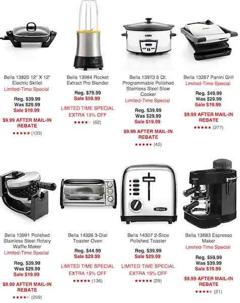 Get Bella Kitchen Appliances Only $7.99 After Sale, Promo Code, and ...