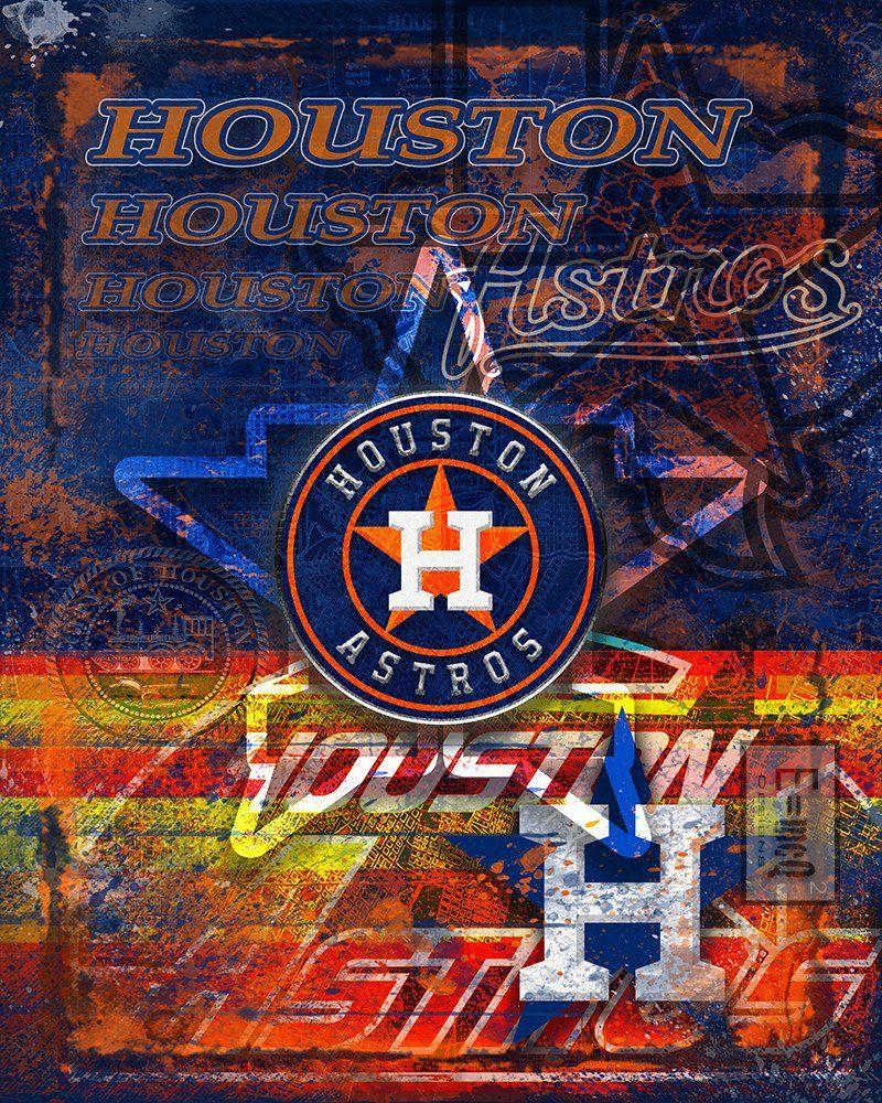 houston astros poster houston astros