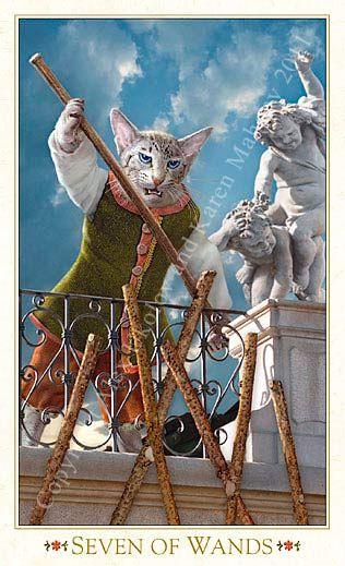 Bohemian Cats Tarot =^. .^=