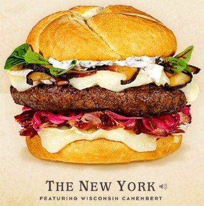 Cheeseburger Hall of fame The New York #Hamburger #recipe