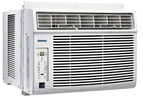 Danby 5 200 Btu Compact Window Air Conditioner With Digital Temperature Control Remote B Window Air Conditioner Window Air Conditioners Room Air Conditioning