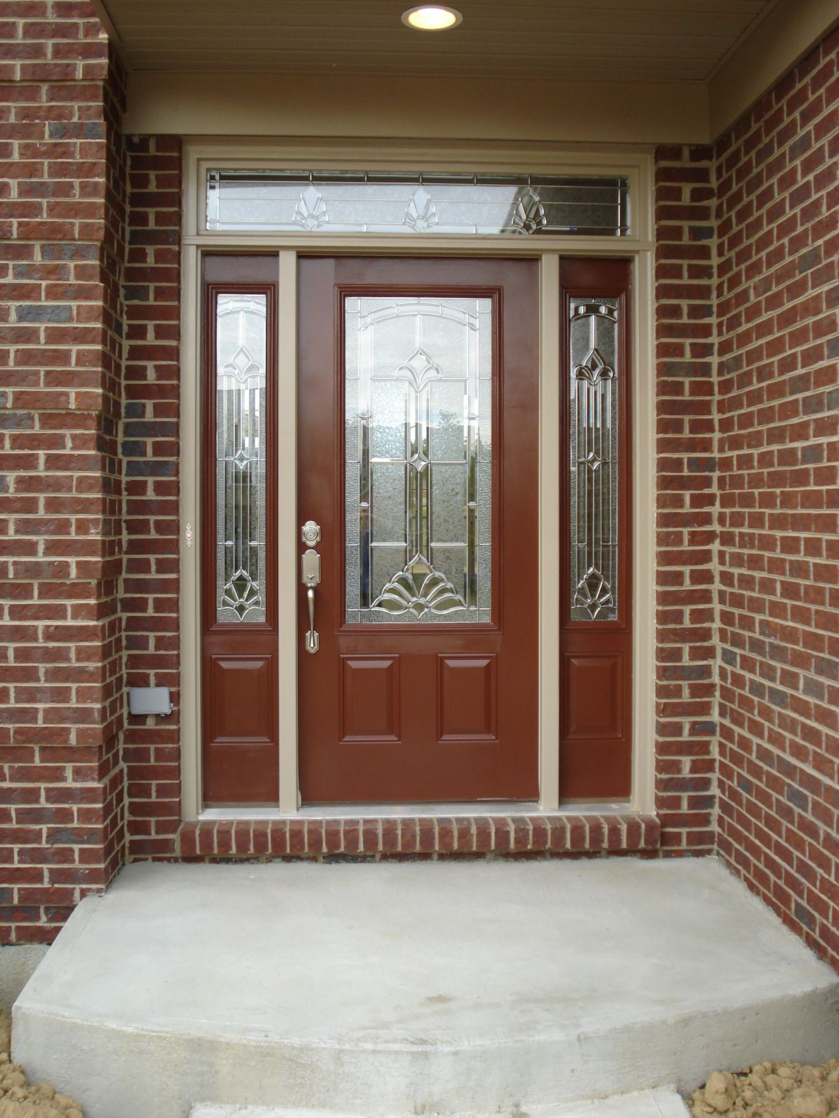 homes tru for vs of home door size best lowes doors single front exterior depot entry double full wood fiberglass with therma sidelight