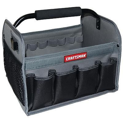 Craftsman Tool Tote Sturdy Organizing Bag Steel Handle Tools