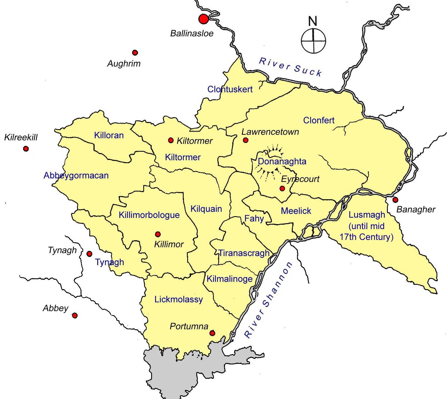 County Longford | ... Longford (in yellow), County Galway ... on