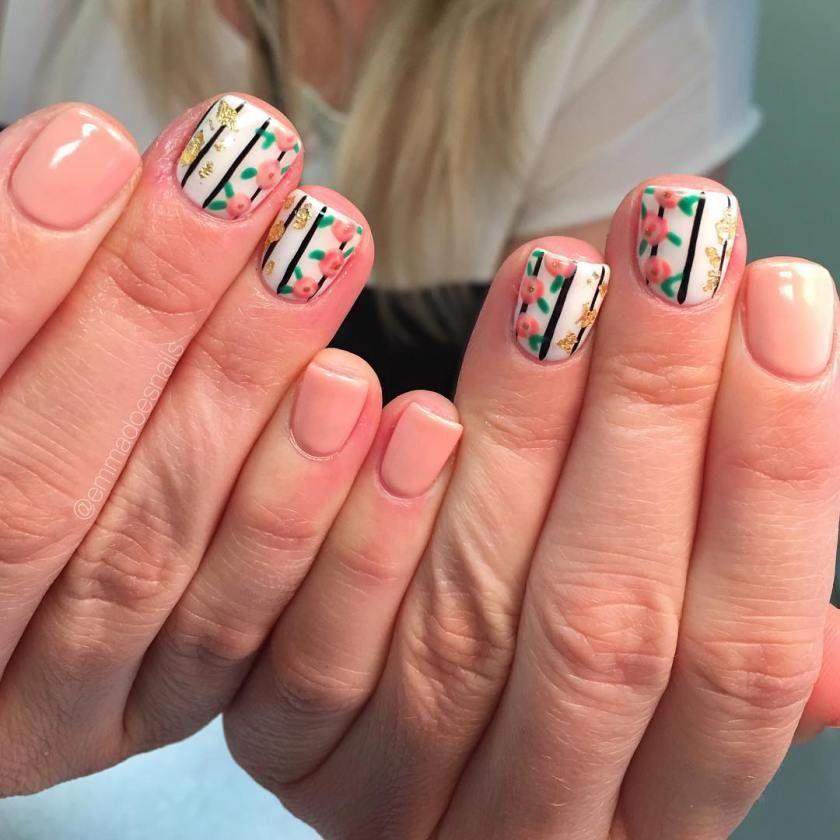 Awesome Peach Nail Polish Designs 2017 - Styles Art - Awesome Peach Nail Polish Designs 2017 - Styles Art Nails