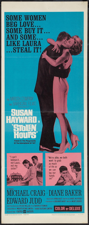 Stolen Hours (United Artists, 1963). Insert (14 Michael