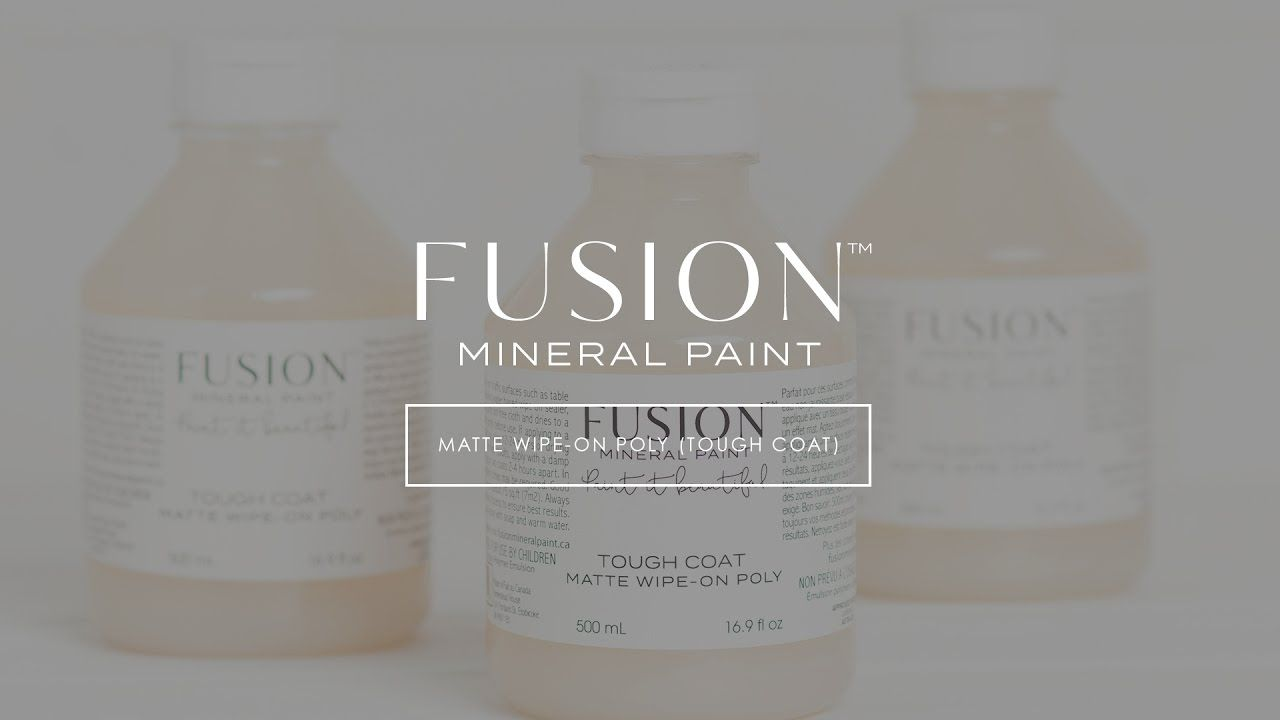 How To Use Tough Coat Clear Top Coat Fusion Mineral Paint Fusion Mineral Paint Fusion Paint Mineral Paint