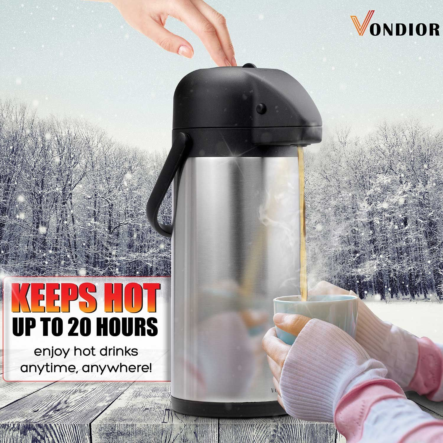 ONE DAY SALE! Coffee Carafe Thermos Thermal Beverage