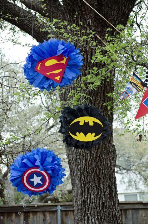 Ideas Para Tu Fiesta Avengers Más Fiesta De Los Vengadores Decoraciones De Super Héroes Cumpleaños De Super Heroes