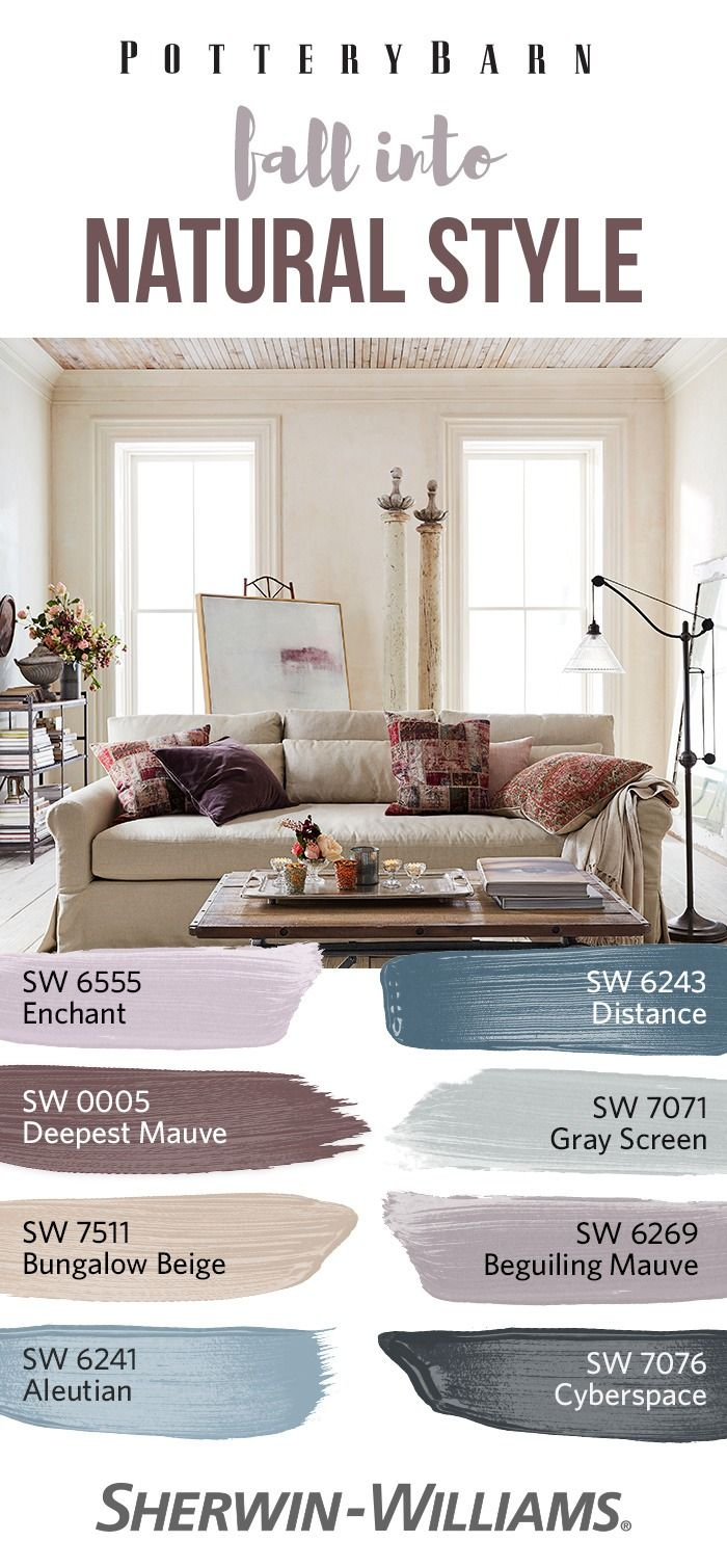 Curl Up With The Cozy Colors Of The Potterybarn Fall Winter 2017 Palette Featuring Warm Neutrals Living Room Colors Paint Colors For Home Big Houses Interior #pottery #barn #living #room #pictures