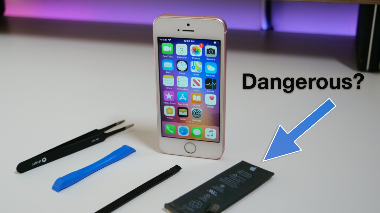 Apple Thinks Doing This Is Too Dangerous Iphone Battery Replacement Iphone Battery Replacement Iphone Battery Iphone