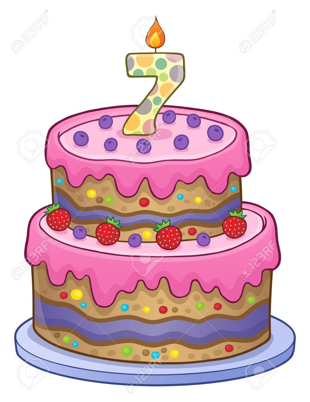 32 Exclusive Picture Of 7 Year Old Birthday Cake 2 Year Old