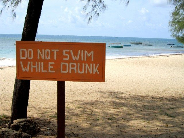 Funny Beach Signs Jenna Thomson Found This Sign Up At A In Malindi Kenya